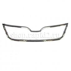 Декоративная накладка на решетку радиатора (хром) для Skoda Rapid, VAG 5JA8536072ZZ