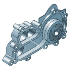 Помпа для Skoda Rapid CWVA 1,6 (110 л.с.), VAG 04E121600AL