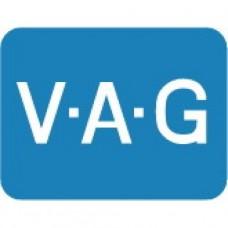 Диск тормозной передний для Skoda Rapid, VAG 6R0615301A