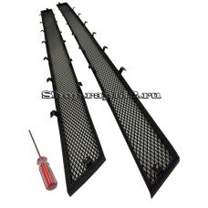 Защита радиатора для Skoda Rapid, (черная)