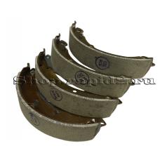 Колодки тормозные задние для Skoda Rapid CFNA 1,6 (105 л.с.), VAG 6RU698525A
