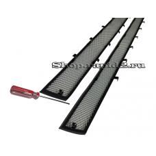 Защита радиатора для Skoda Rapid, (хром)