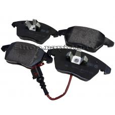 Колодки тормозные передние для Skoda Rapid CAXA 1,4 ( 122 л.с), VAG 5K0698151