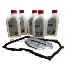 Комплект для частичной замены масла в 6-ступенчатой АКП Skoda Rapid, AQ250 09G300033D