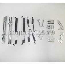 Комплект деталей крепления задних тормозных колодок для Skoda Rapid, VAG 6RU698545A