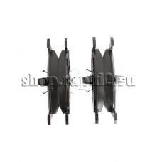 Колодки тормозные передние для Skoda Rapid CFNA 1,6 (105 л.с.), BREMBO P85041